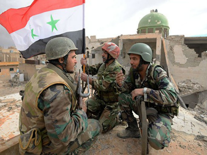 Сирийская армия обстреляла из зенитных установок беспилотник США