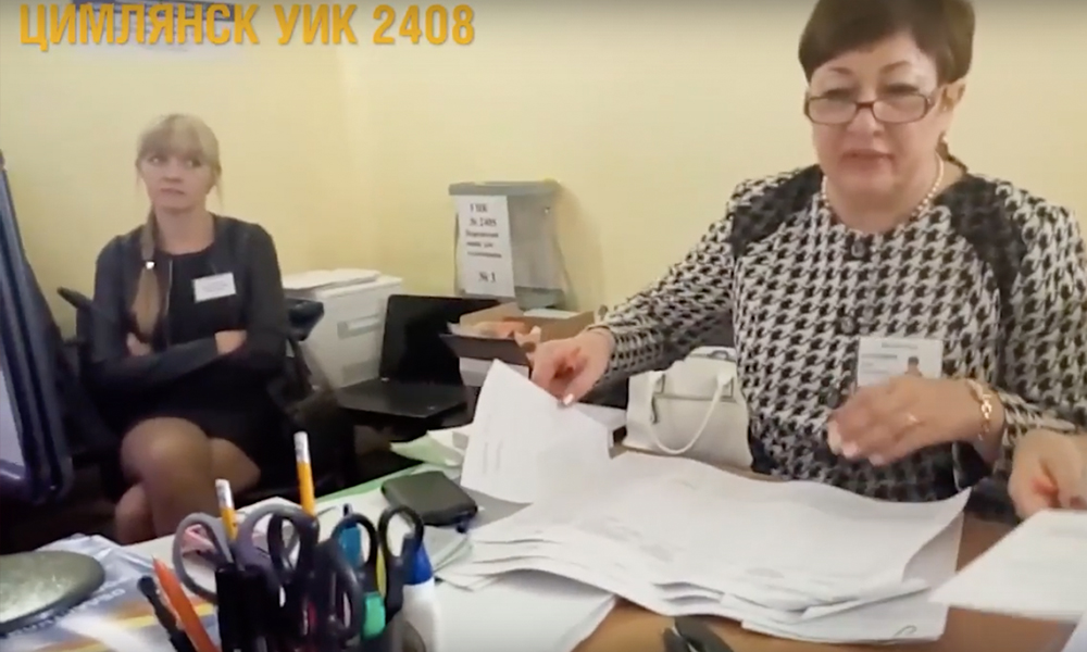 В Цимлянске и Семикаракорске председатели УИК отказались исправлять грубые нарушения на избирательных участках
