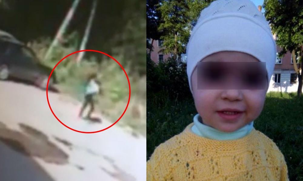 Дерзкое похищение двухлетней девочки из коляски в городе Иваново попало на видео