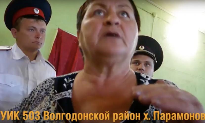 Скандал в Волгодонске: у члена УИК попытались вырвать видеокамеру и выгнать его с участка