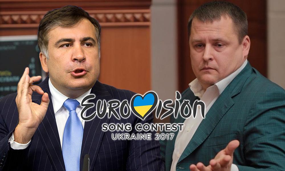 Договорняк, ганьба и профанация: Саакашвили и Филатов выразили свое