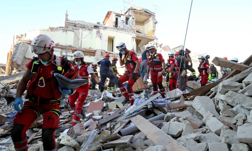 Россиянка лишилась ребенка в результате страшного землетрясения в Италии