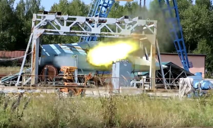ВВоскресенском районе испытывают новейшую пушку для истребителя Т-50