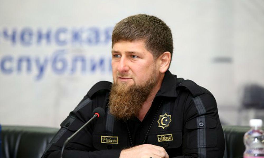 Кадыров исполнил зажигательную лезгинку после голосования в родном селе