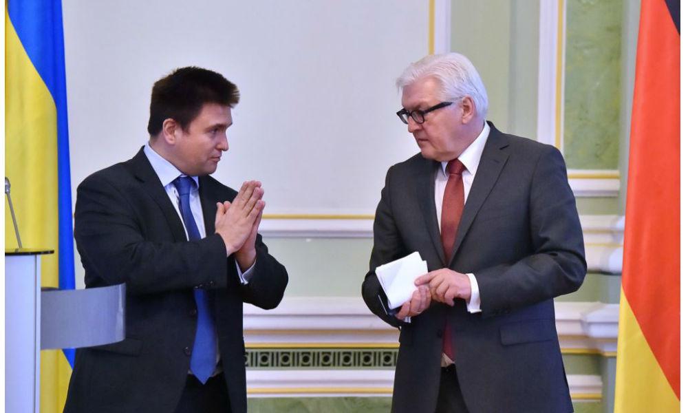 Германия потребовала от Украины принять закон о специальном статусе Донбасса