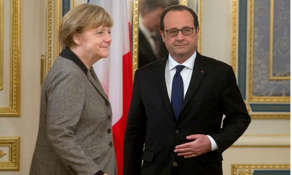 Меркель и Олланд тайно согласовали план построения Европы без Великобритании