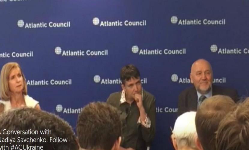 Савченко жаловалась  жителям Америки  наработу Порошенко