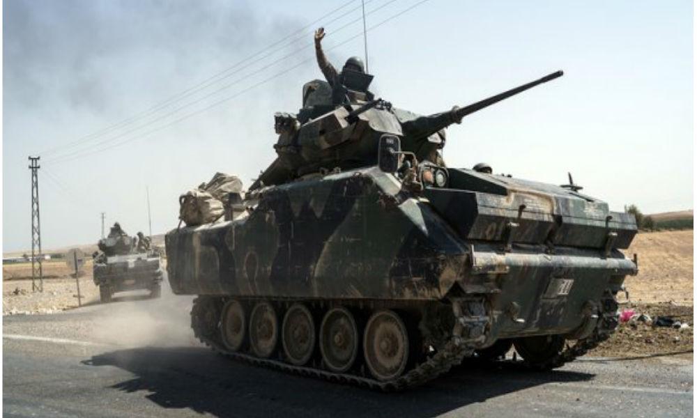 Турция попросила у России поддержку в наземной операции в Сирии