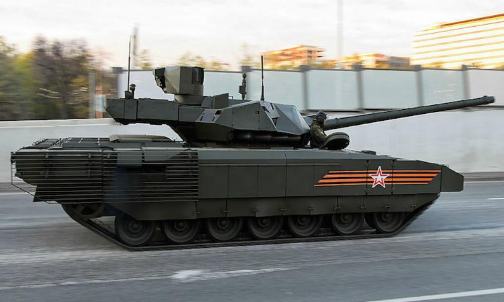 Лучший российский танк «Армата» усилили защитой от уранового оружия