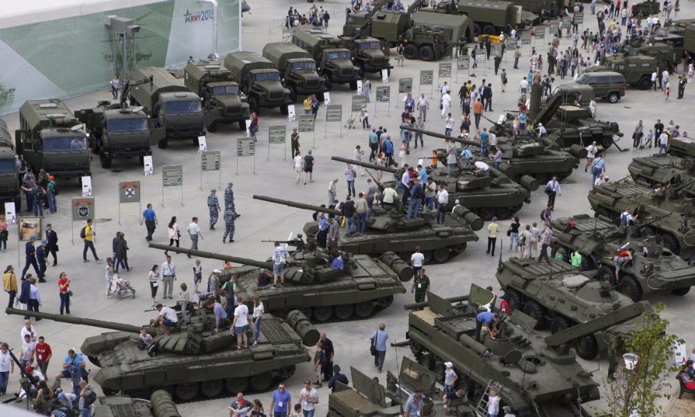 Россия в 2016 году продала различного вооружения другим странам на 7 миллиардов долларов