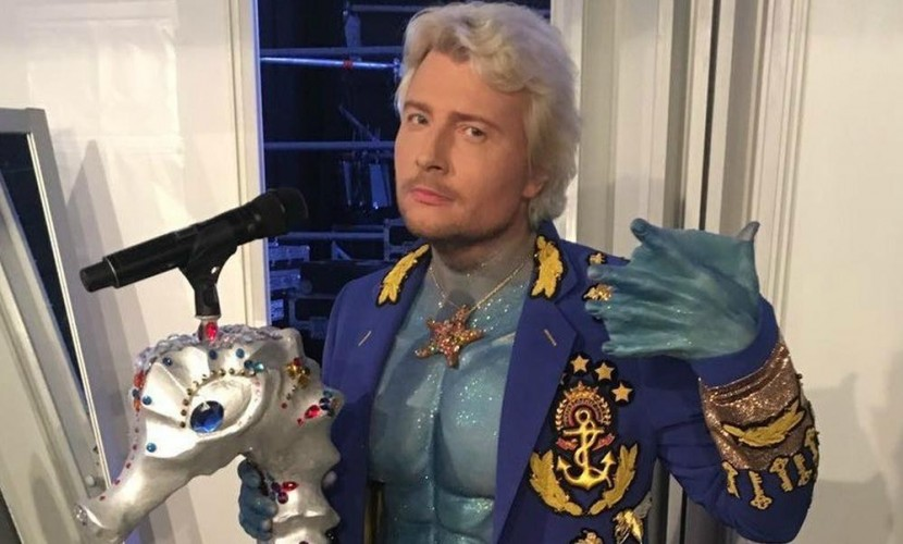 Басков на«Новой волне 2016» шокировал непристойным костюмом (6)