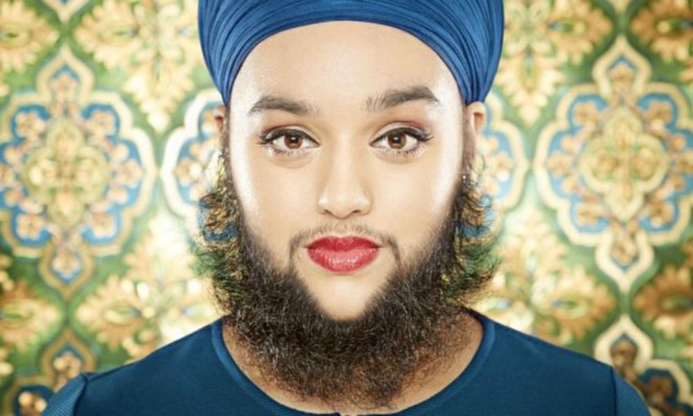 Британская модель с самой длинной бородой в мире покорила Книгу рекордов Гиннесса
