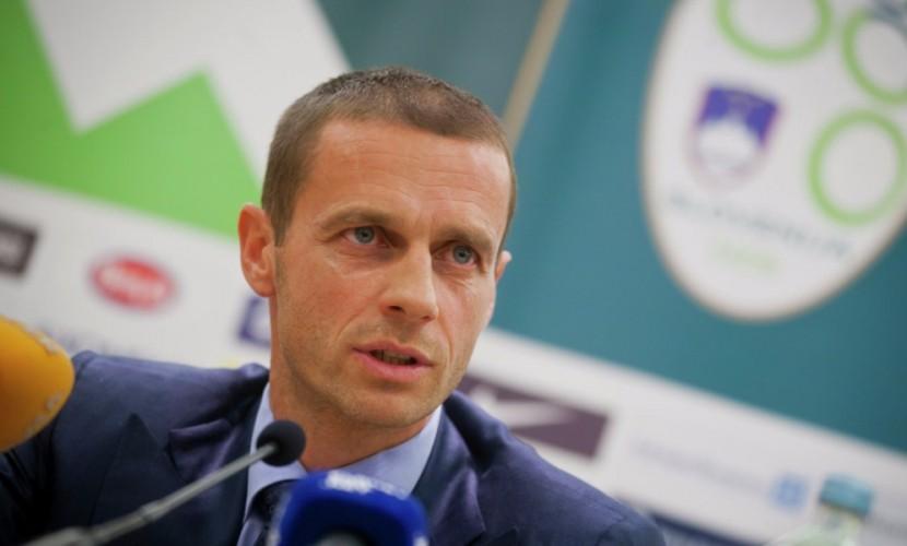 Словенец Александер Чеферин уверенно выиграл борьбу за пост президента УЕФА
