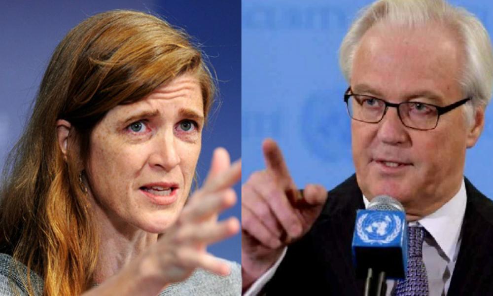 Чуркин отказался слушать обвинившую Россию в «цинизме» и «трюкачестве» на Совбезе ООН американскую коллегу