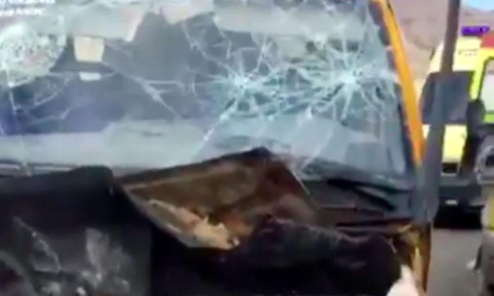 Семь человек стали жертвами жуткого ДТП с участием маршрутки в Дагестане