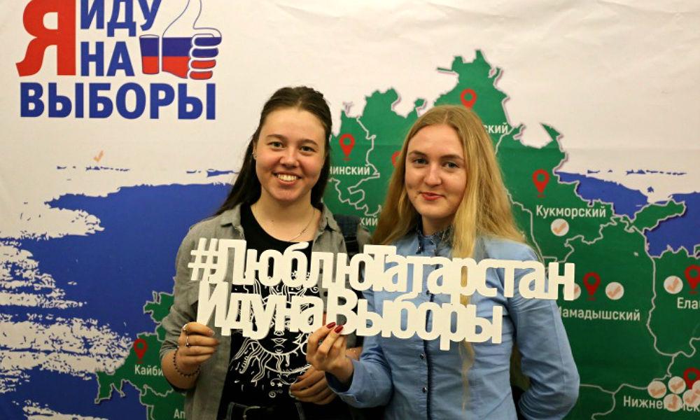 Татарстан захватил лидерство по явке на выборах в Приволжье