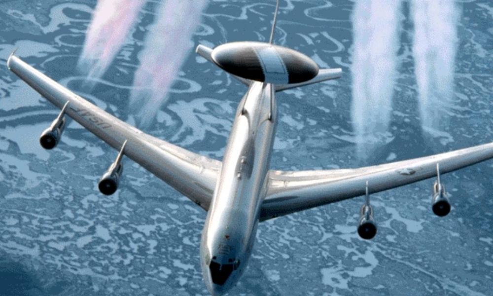 Самолет авиационного наведения НАТО подлетел со стороны Польши и «просканировал» территорию России