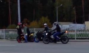 Наглое байк-шоу в спальном районе Екатеринбурга и оскорбления местных жителей попали на видео