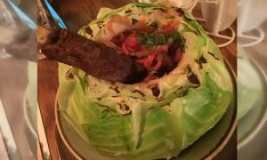 В московском кафе в капусте обнаружили корейку