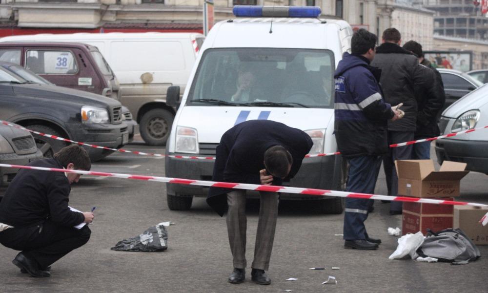 Семеро бандитов совершили вооруженное нападение на инкассаторов в Москве