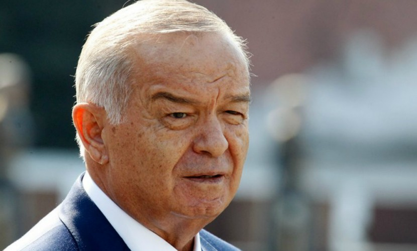 Национальное телевидение Узбекистана объявило осмерти президента Ислама Каримова