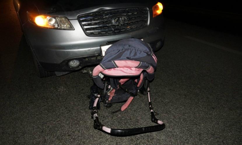 В столице России шофёр сбил напереходе детскую коляску