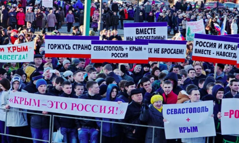 Лавров: ЕСнепризнает Крым русским изидеологических соображений