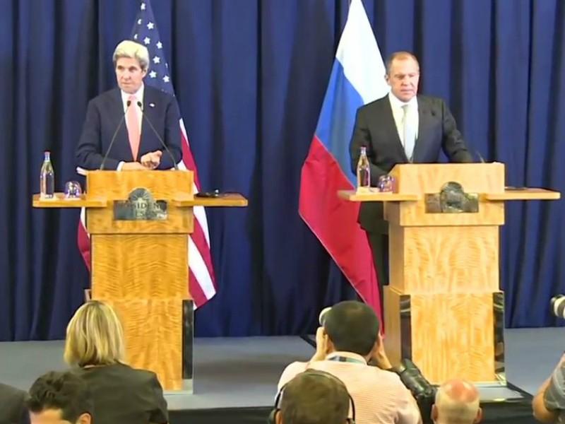 Лавров и Керри согласовали план по Сирии в ходе рекордных 14-часовых переговоров