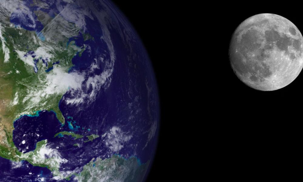 Луна образовалась из частей древней Земли после мощного столкновения, - ученые