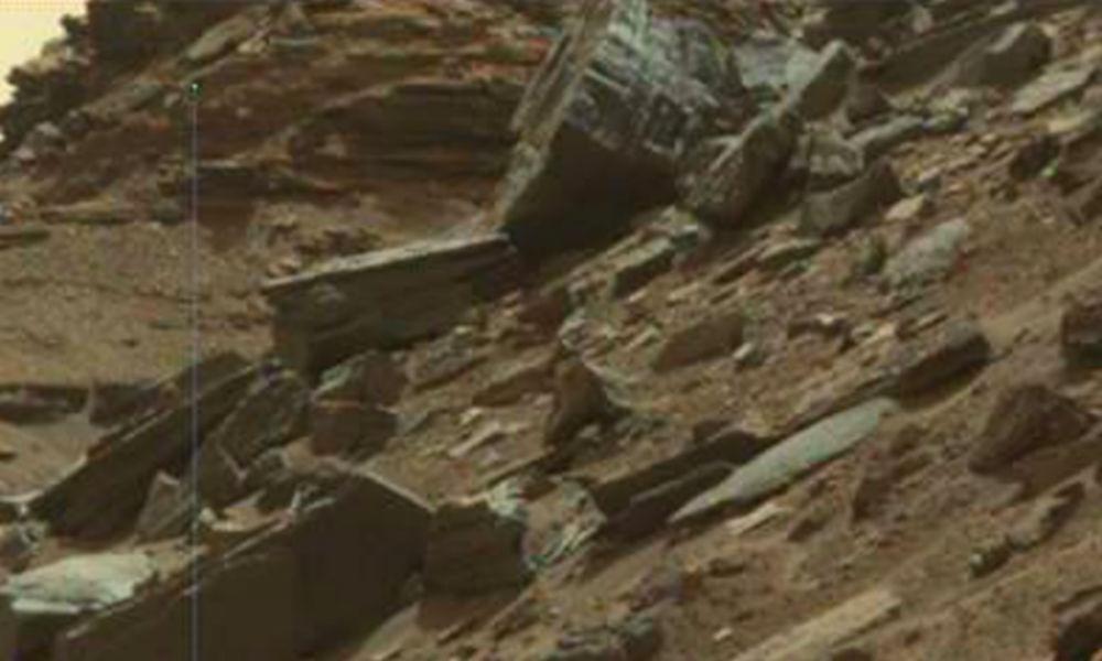 Огромный механизм инопланетян обнаружили на марсианских фото NASA уфологи