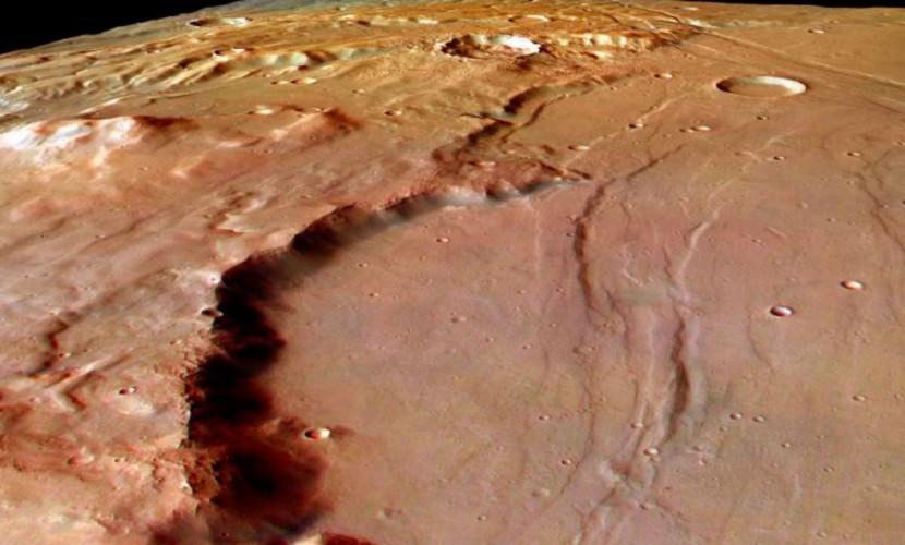 Марсианское плато Тавмасия назвали потенциально обитаемым