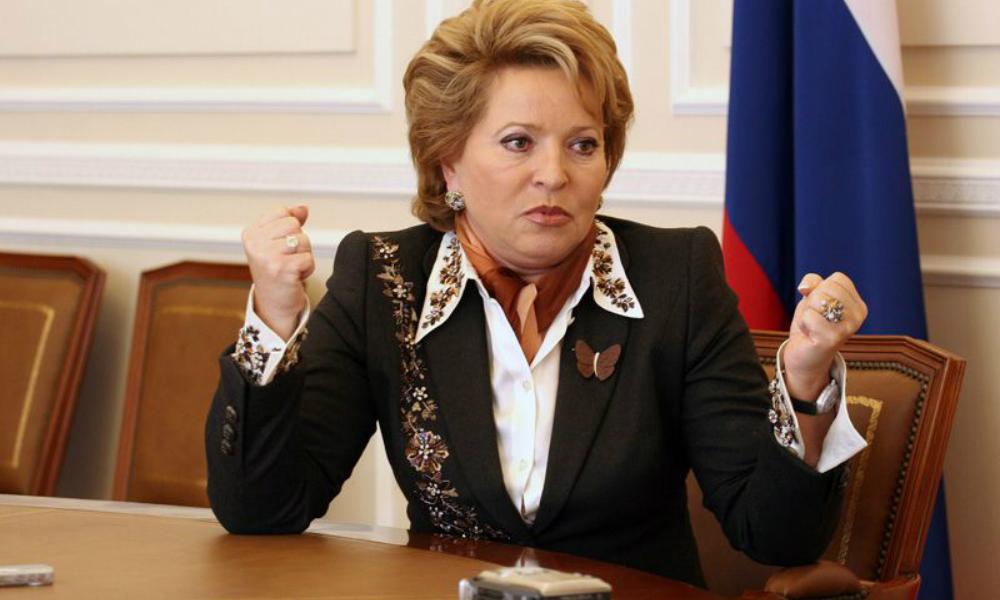 Глава Совфеда Валентина Матвиенко сообщила о критическом финансовом положении 15 регионов России