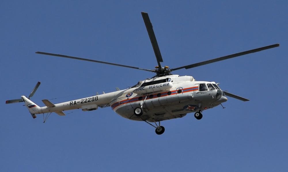 Три человека погибли при крушении вертолета Ми-8 МЧС в Подмосковье