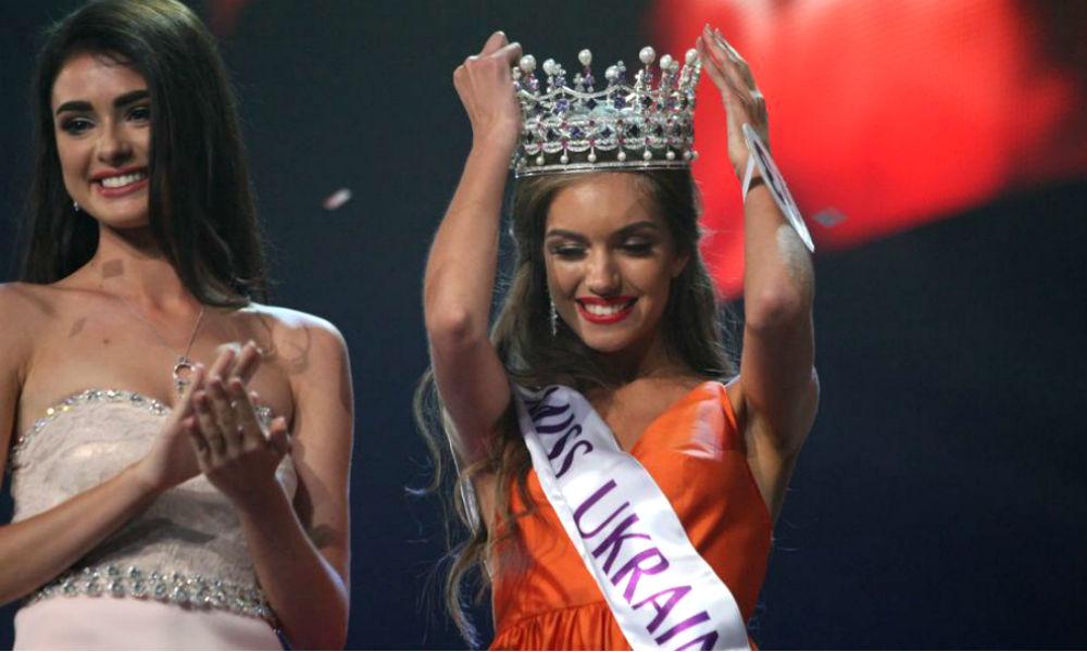 «Райская» студентка опозорилась с премьер-министром и выиграла конкурс «Мисс Украина-2016»
