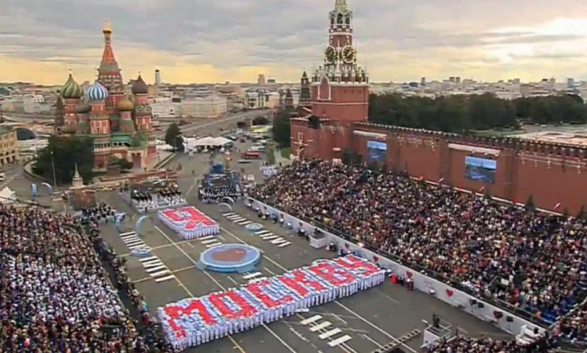 Путин поздравил жителей «особой и красивейшей» Москвы с Днем города-2016