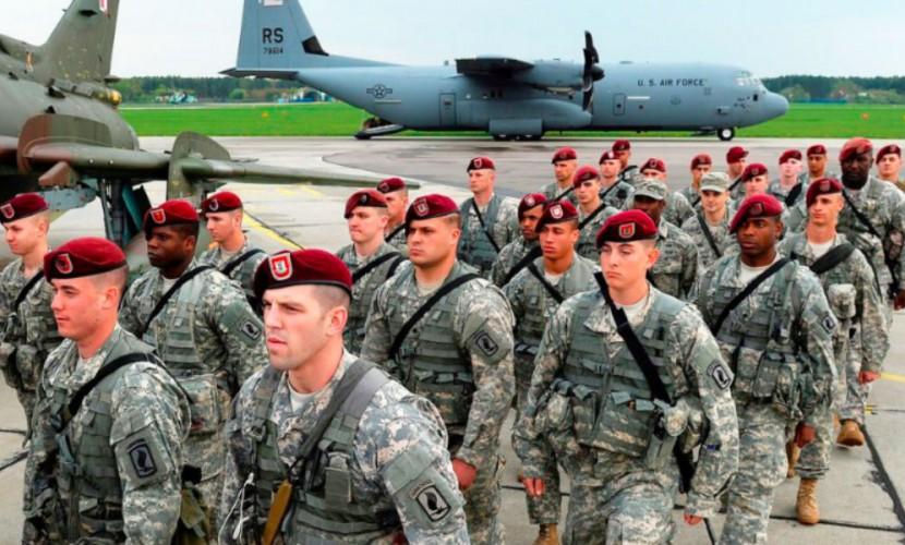 """США высадили 200 десантников в Латвии для """"усиления"""" восточного фланга НАТО"""