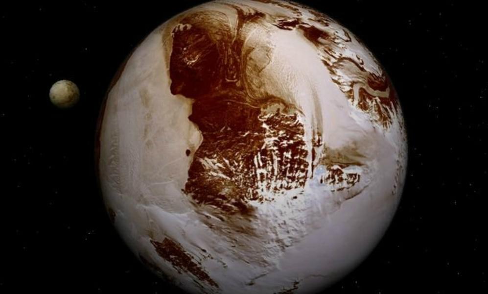 Ученые объяснили красный цвет поверхности Плутона и заледенение его ядра