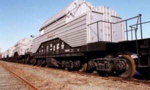 Транспортер с отработанным ядерным топливом сошел с рельсов под Челябинском
