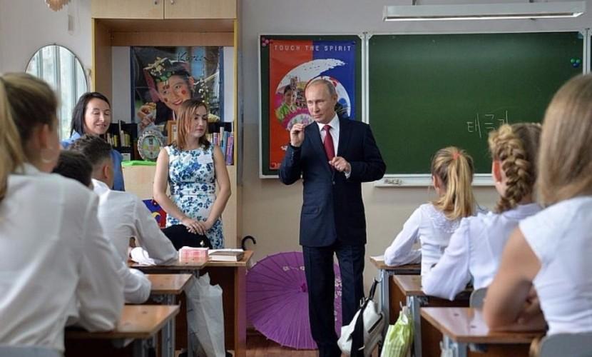 Чтобы быть лидером, никогда нельзя задирать нос и считать, что ты лучше всех, - Путин