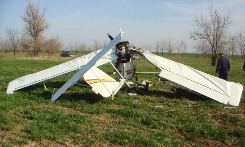 Пилот самодельного самолета разбился вРязанской области