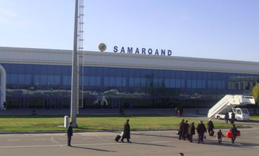 Аэропорт в родном городе Ислама Каримова неожиданно закрыли на один день