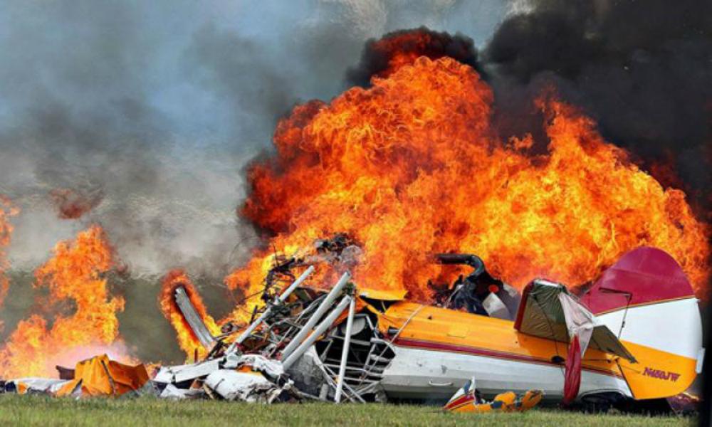 Пять человек погибли при столкновении двух самолетов над деревней Русская Миссия