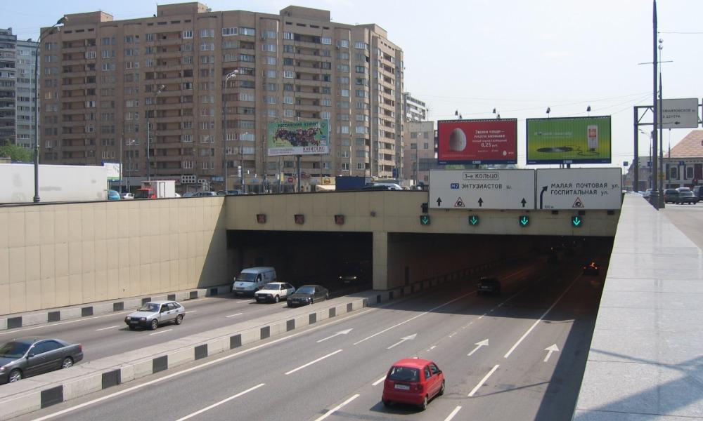Водитель Nissan получил штраф за нарушение правил впереди ехавшей машиной в Москве