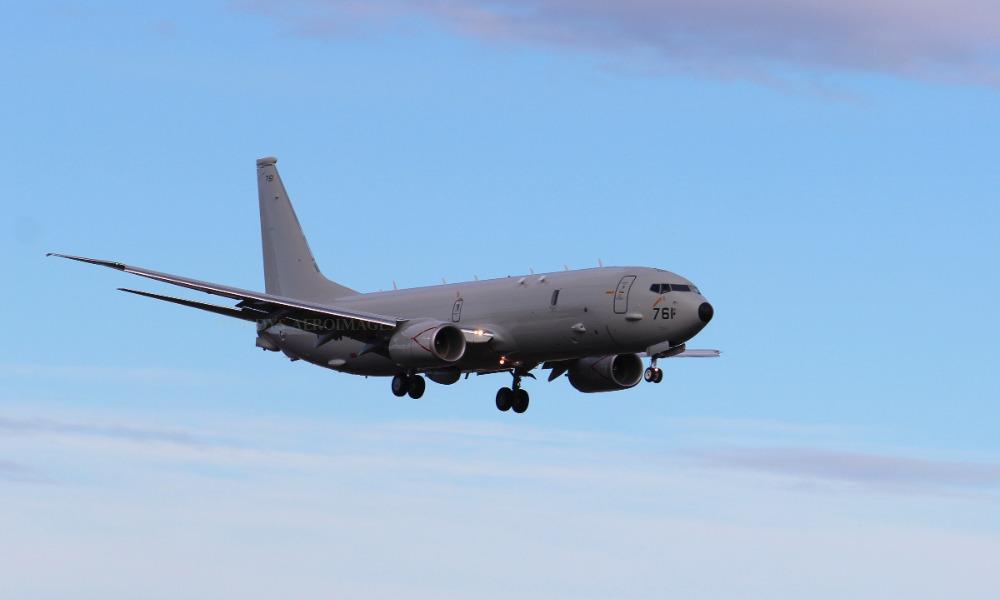 Американский патрульный самолет провел разведку около военных баз России в Сирии