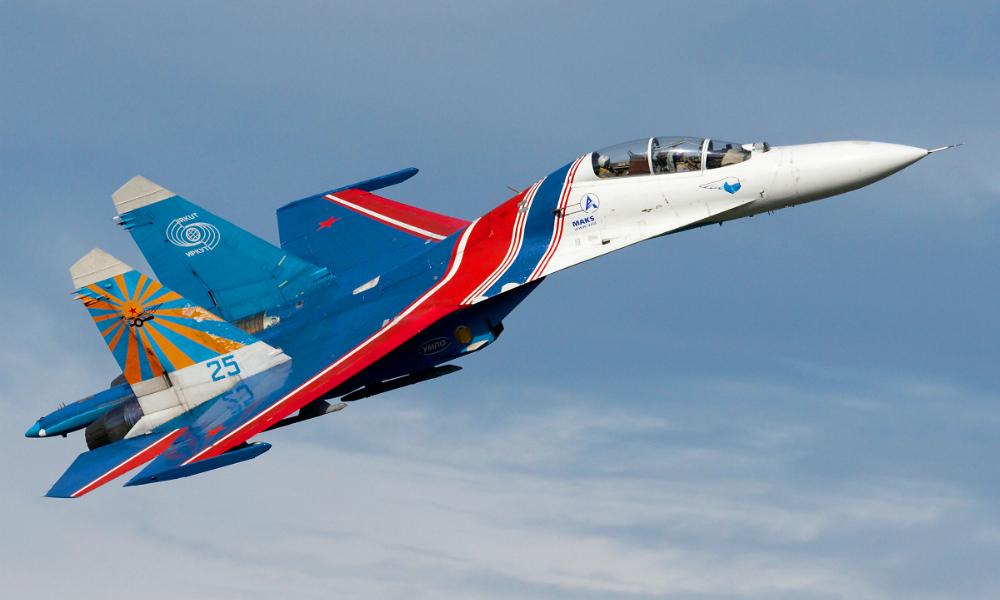 Пентагон объявил о «небезопасном» перехвате американского самолета-разведчика российским Су-27 над Черным морем