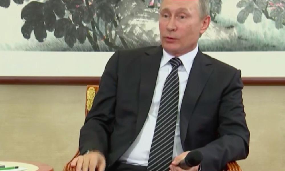 Путин мастерски отшутился во время