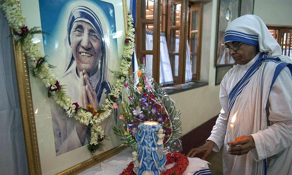 Мать Терезу причислили к лику святых на торжественной церемонии канонизации в Ватикане