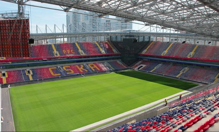 ЦСКА получил от УЕФА официальное разрешение играть матчи Лиги чемпионов на новом стадионе