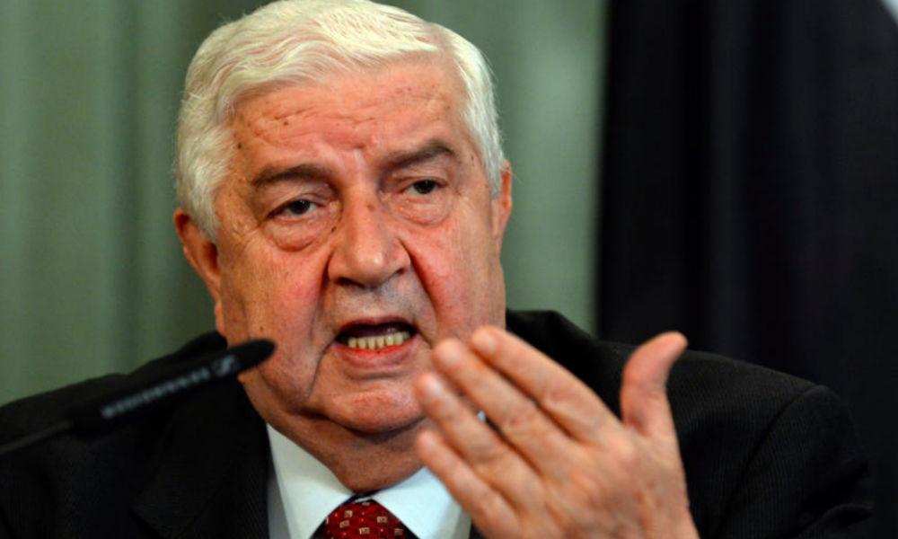 Причину обвинений в адрес России со стороны Запада назвал глава МИД Сирии