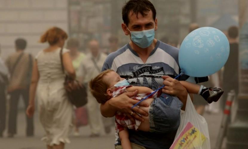 ВОЗ: чрезвычайная ситуация с качеством воздуха на Земле затронула 92% жителей городов